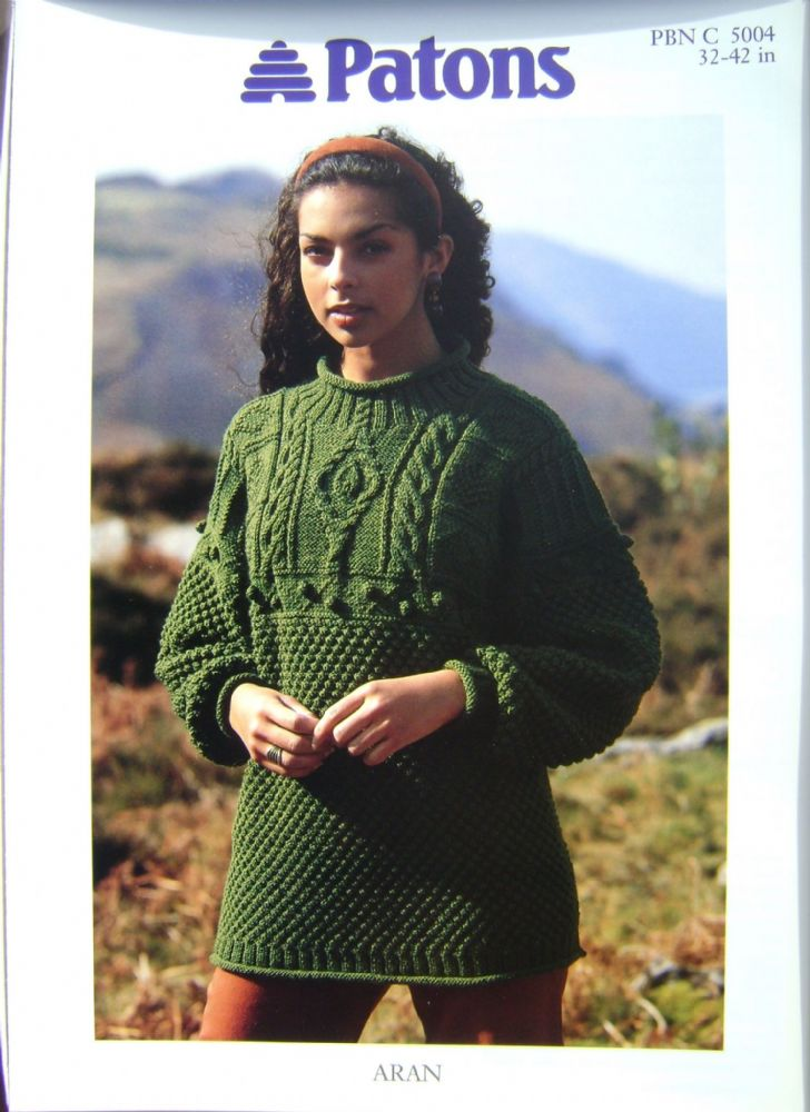 Patons Knitting Pattern 5004